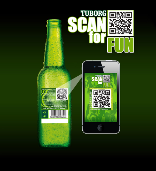 Tuborg_SCAN_for_FUN_mobile_1 QR code tips 1