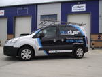 WM Dyer Electrical Contractor Vans