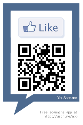 Arda Beach QR Code Facebook Like
