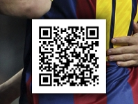 FC Barcelone uses QR Code to promote barca fans