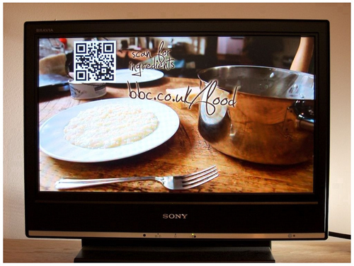 BBC The Good Cook QR Code