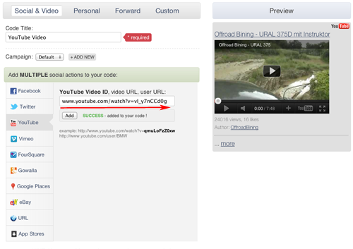 YouTube Video Dashboard 2