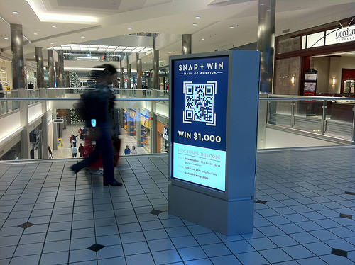 Mall of America QR Code contest
