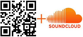 QR Code for embed SoundCloud profile and music