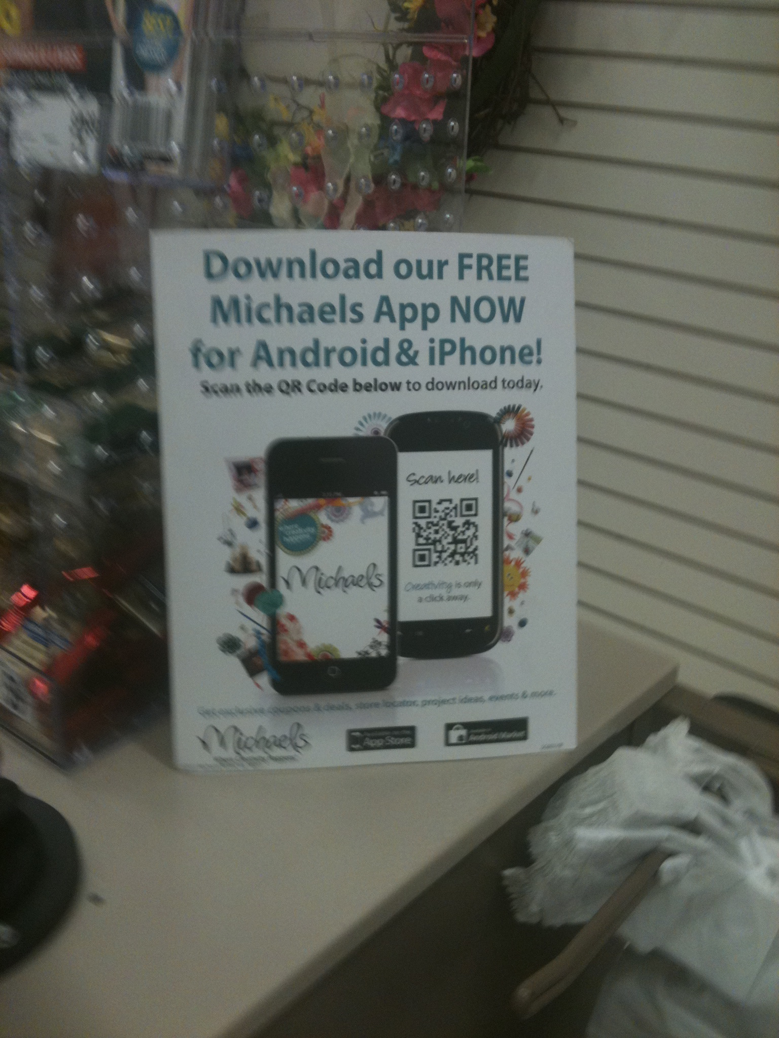 Michaels coupon 40 mobile