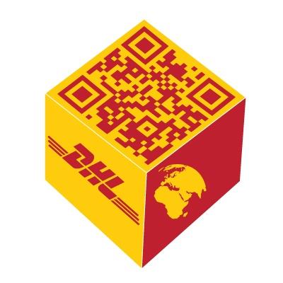 DHL Israel use QR Code
